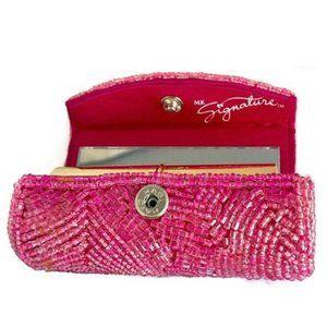 NEW! MK Signature Hot Pink Beaded Lipstick …